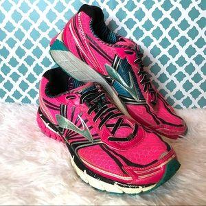 Brooks Adrenaline GTS 14 Pink Running Sneaker 8